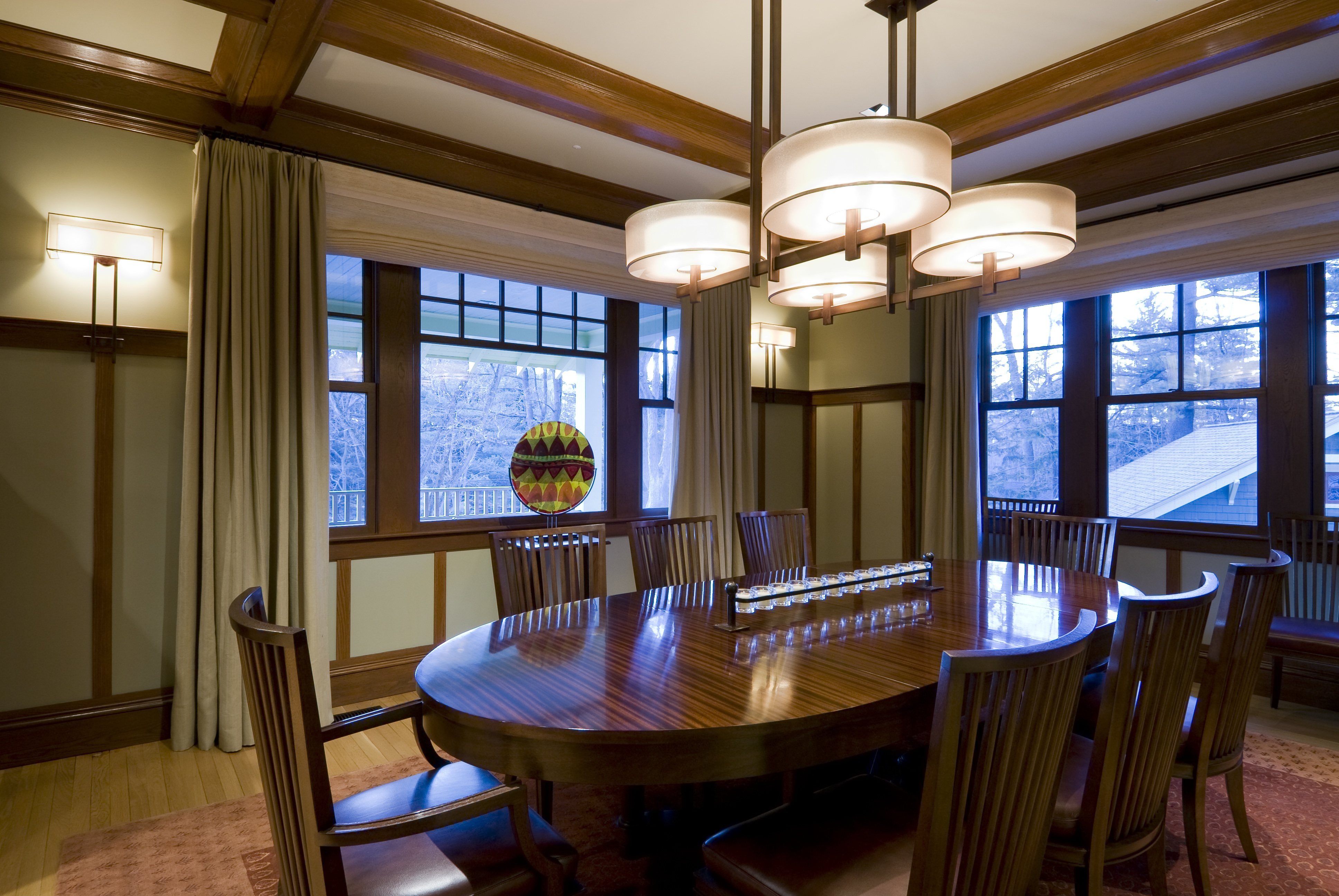 The Craftsman Bungalow Dining Room