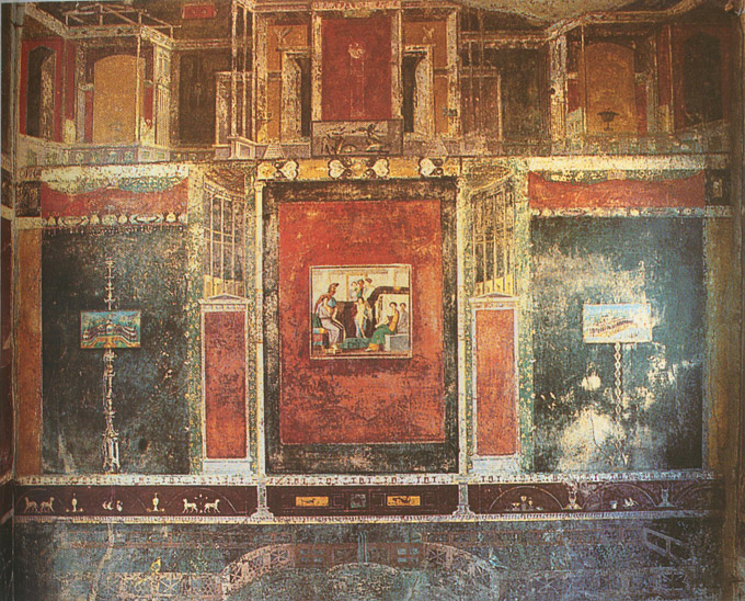 The Frescoes of Pompeii Interior Decoration in Ancient Rome KDZ
