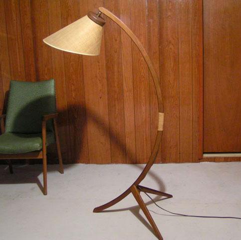 Illuminating mad men mid century modern lighting and the for Mid century modern flooring