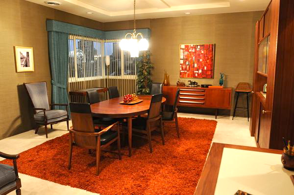 Highlighting Mad Men Mid Century Swag Lamps Chandeliers And