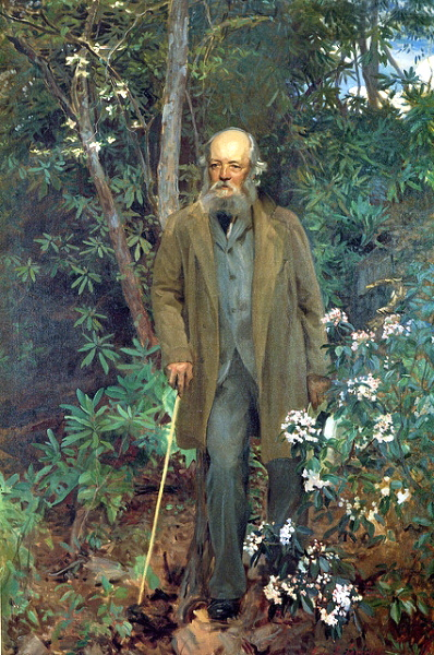 Frederick Law Olmstead as painted by John Singer Sargent in 1895, commissioned by George Vanderbilt