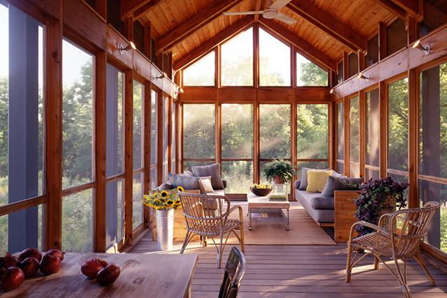 www.remodelista.com/architects-designers/firms/billinkoff-architecture Bucks County Residence: screen porch Photo: Barry Halkin