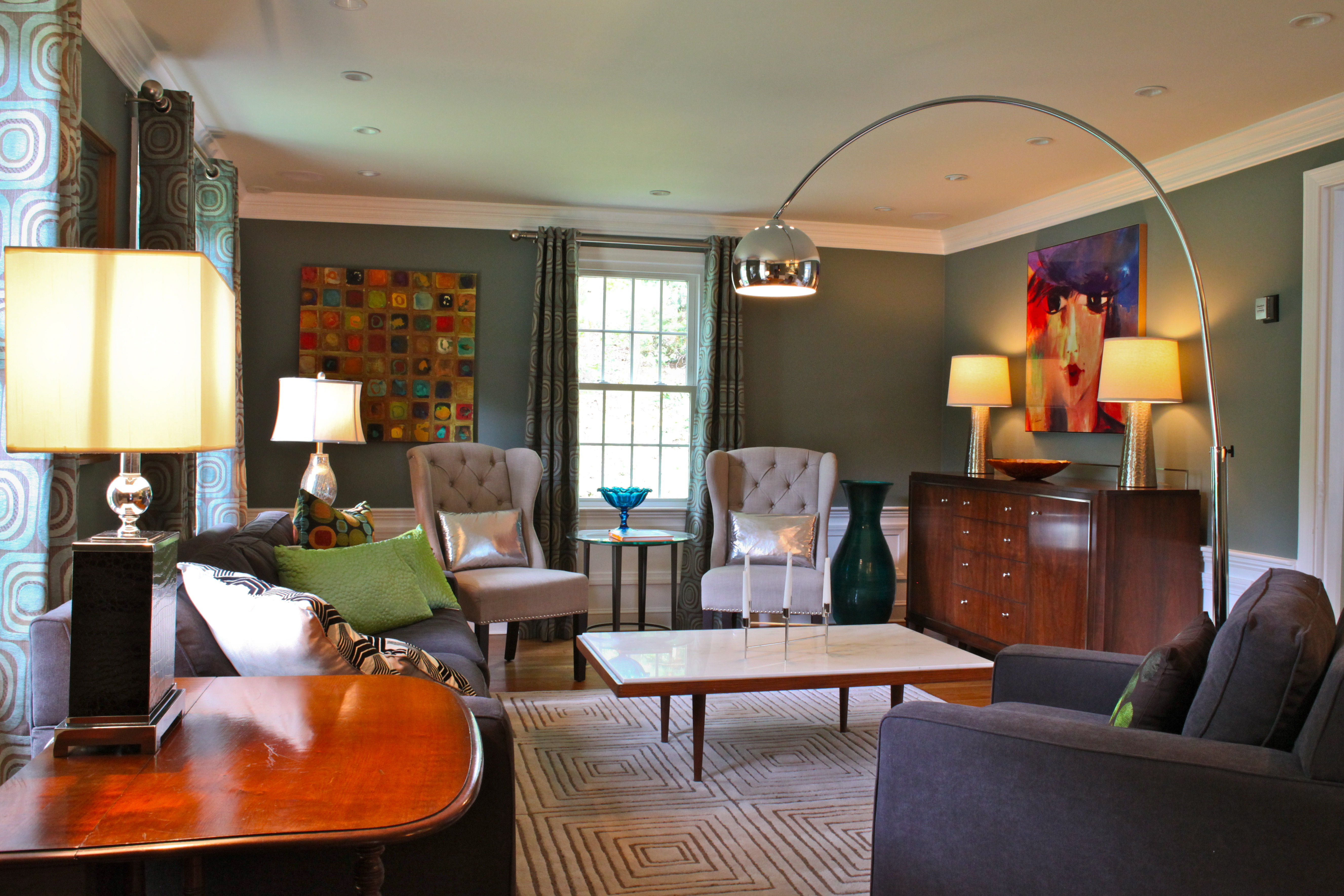 Banish The Winter Blues Blue Wall Colors For Spring Kdz Designs Interior Design Western Ma