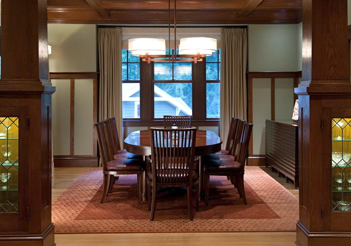 KDZ Designs - Craftsman Bungalow - Dining Room