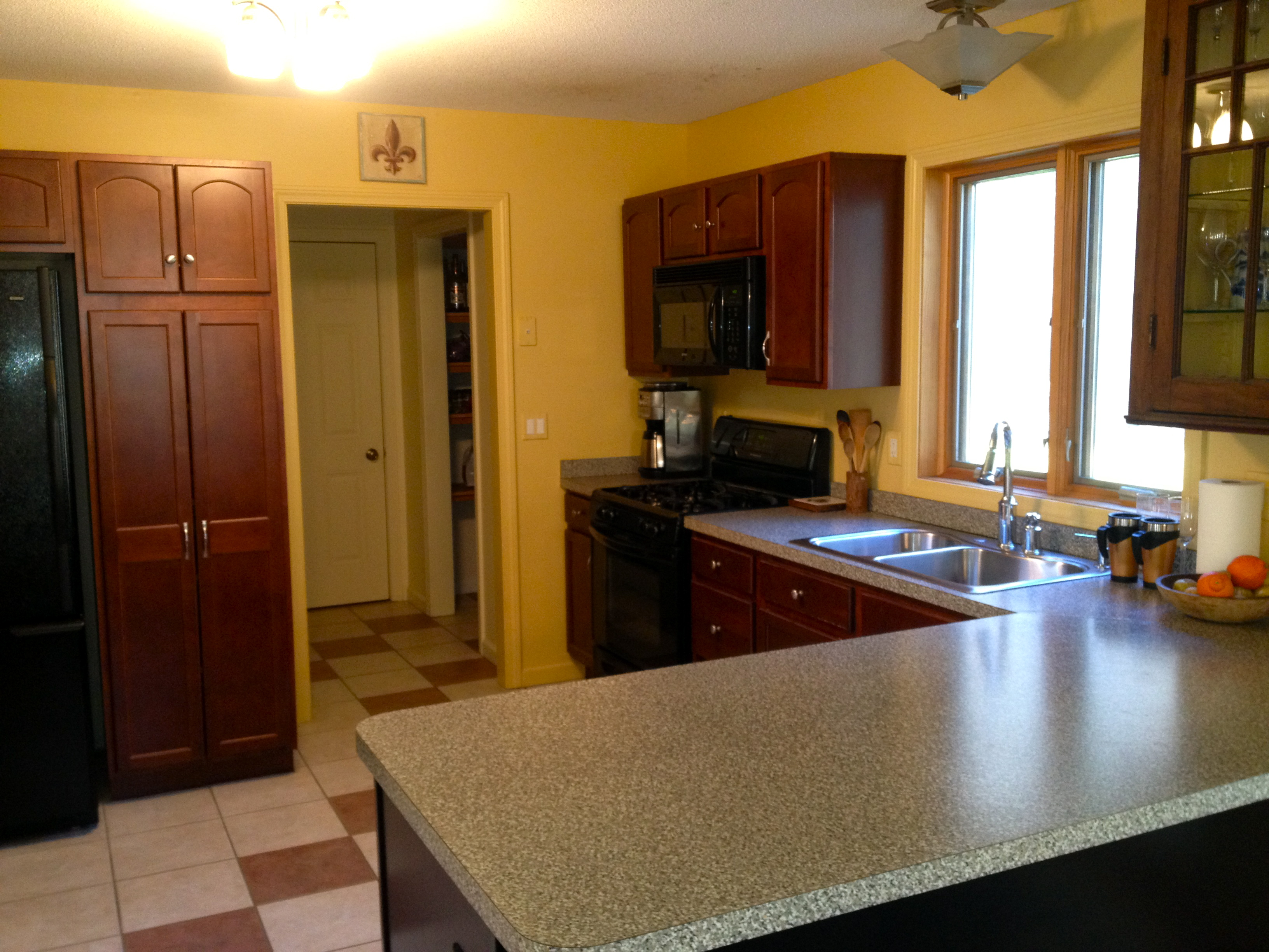 Case study western massachusetts bungalow kdz designs interior - Kitchen Before Photo