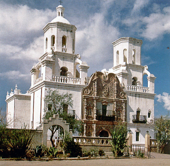 Photo by Jim Griffith http://www.nps.gov/tuma/learn/historyculture/san-xavier-del-bac.htm
