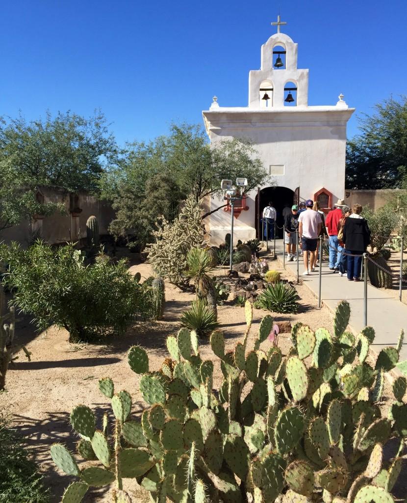 San Xavier Mission - Mortuary Chapel - Fall 2015 - KDZ Designs