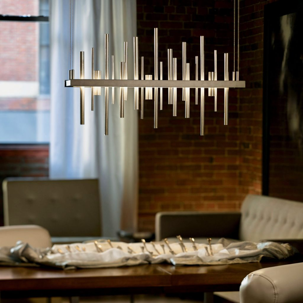 Hubbardton Forge Chandelier - http://www.hubbardtonforge.com/products/139735