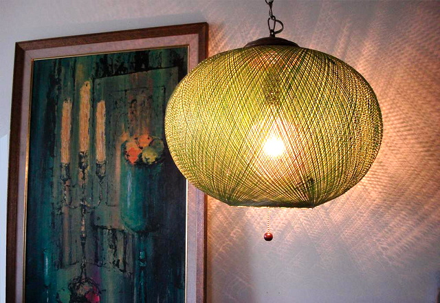 Highlighting Mad Men Mid Century Swag Lamps Chandeliers
