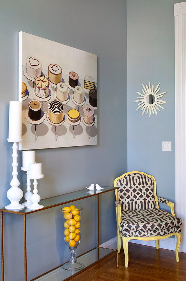 Banish The Winter Blues Blue Wall Colors For Spring